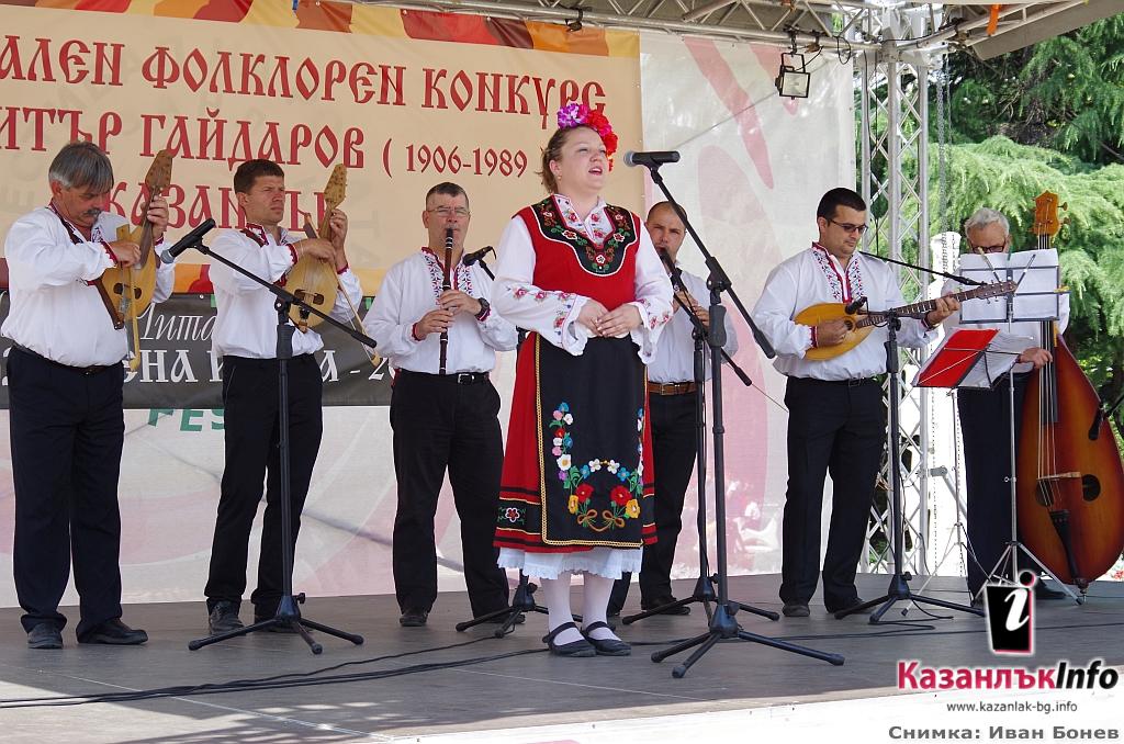 Галерия снимки от Първия национален фолклорен конкурс